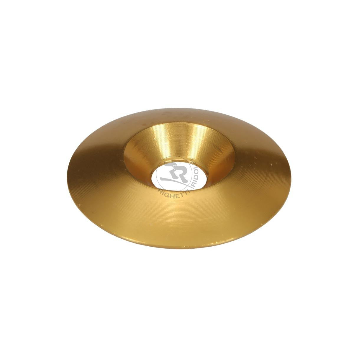 Aluminium Countersunk Washer  34x8mm - Gold