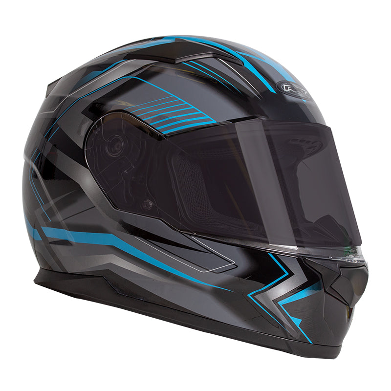 RXT Zed Helmet - Full Face Black/Blue - XS