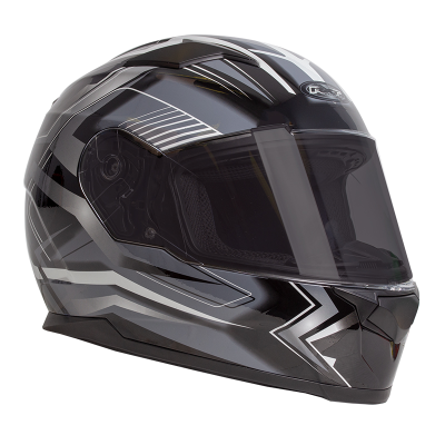 RXT ZED Helmet - Full Face Black/White - M