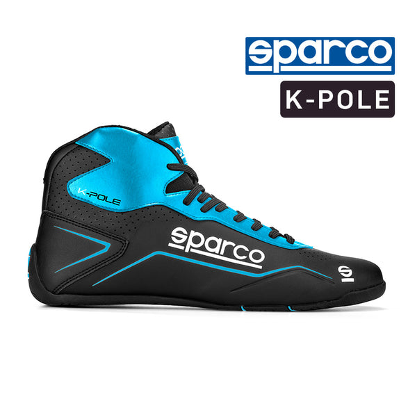 Sparco K Pole Boot - Black Blue Size 46