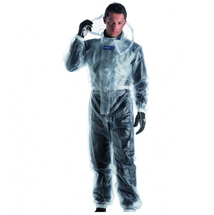 Sparco T1 Clear Rainsuit - XXL