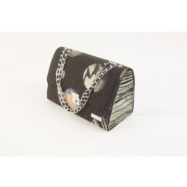 BLACK SPACE TEWA ANKARA AFRICAN PRINT BAG