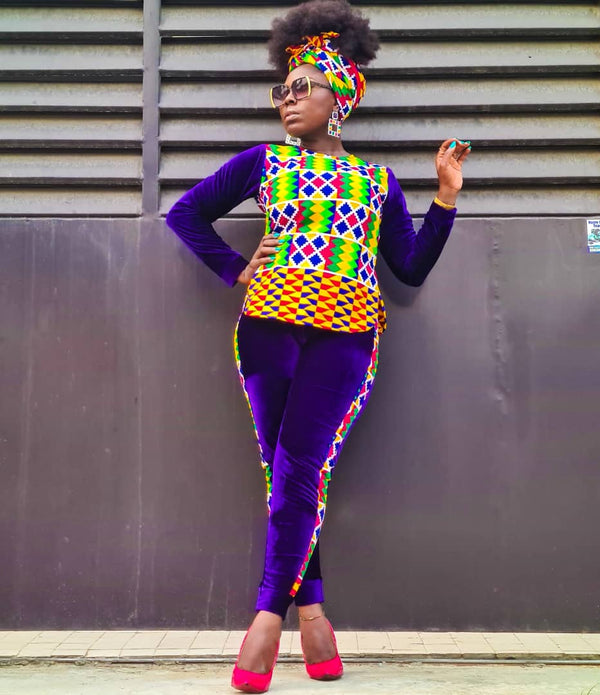 Araoluwa Multicolor Ankara African Print Two Set - READY TO SHIP