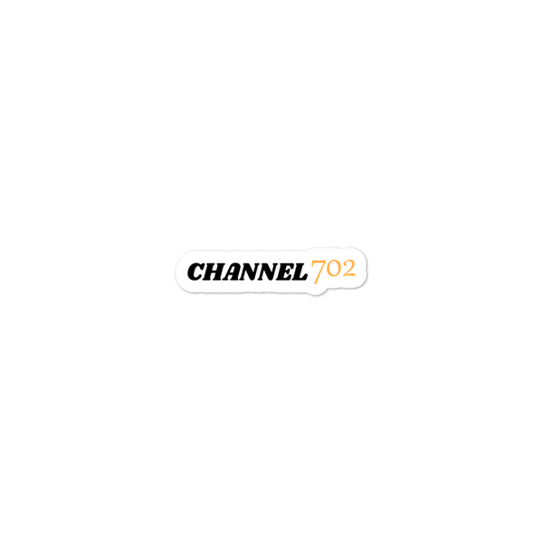 Original Channel 702 Sticker