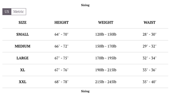 3cad8fe2036 TRY OUR ROMPER SIZE CALCULATOR CLICK - HERE. JUMPSUIT CHART