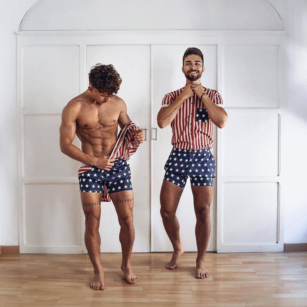 7babb66a7462f The Patriot RomperJack - RomperJack, Mens Romper - Male Romper