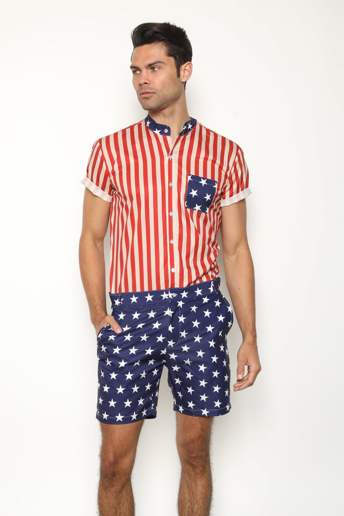 The Patriot RomperJack - RomperJack,  - Male Romper