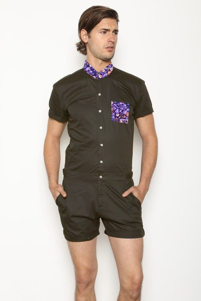 Violet Gray - RomperJack, Men's Romper - Male Romper