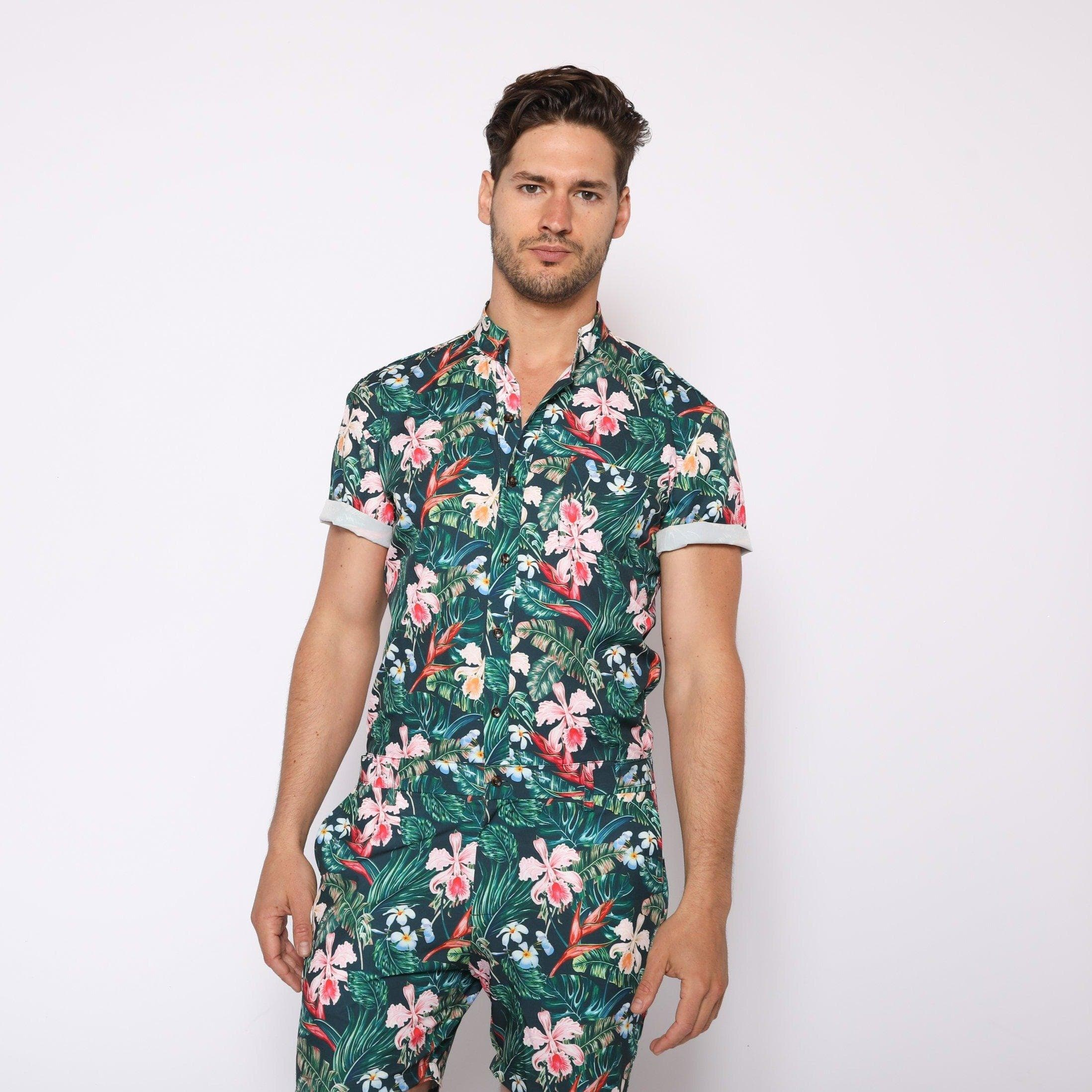 Jungle Print - RomperJack, Mens Romper - Male Romper