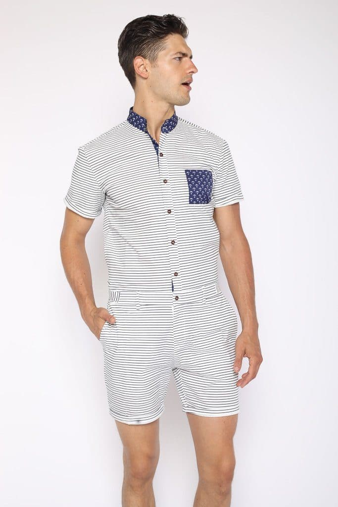 The Nautical - RomperJack, Men's Romper - Male Romper
