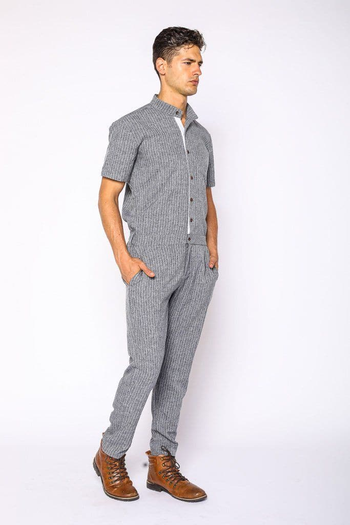 49e506ffe42 Greyhound Fitted Mens Jumpsuit - Shop Now - RomperJack