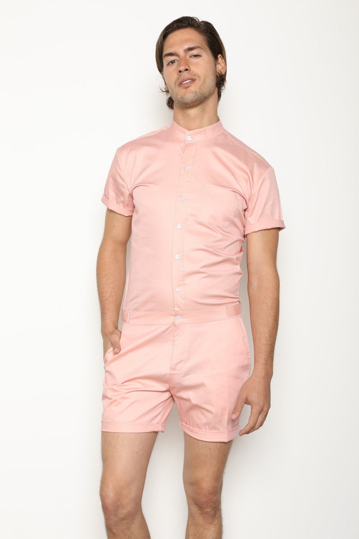 The Original Male Romper in Pink - RomperJack, Mens Romper - Male Romper