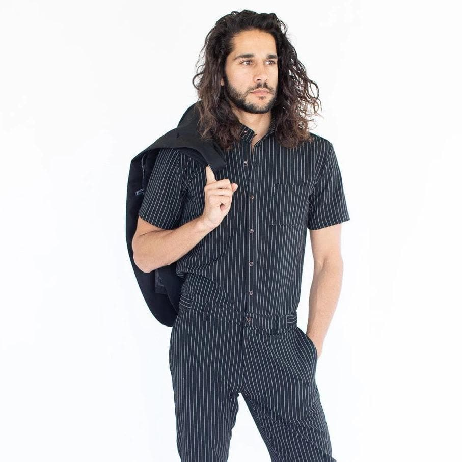 Gentlemens Jumpsuit - RomperJack, Mens Jumpsuit - Male Romper