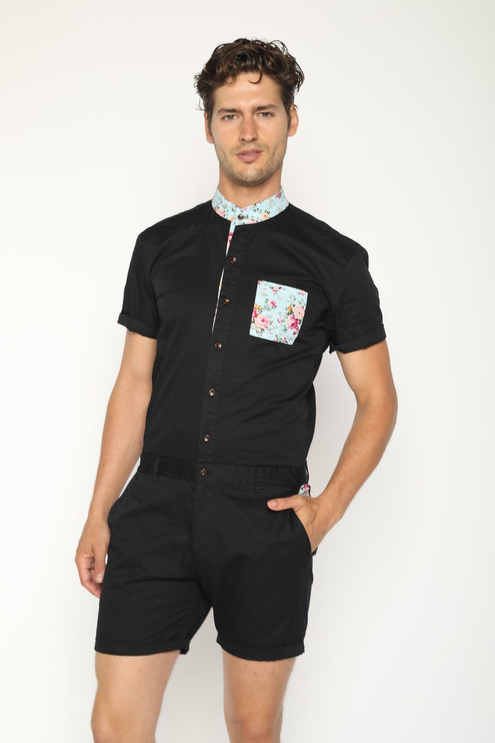 Black Mint - RomperJack, Men's Romper - Male Romper