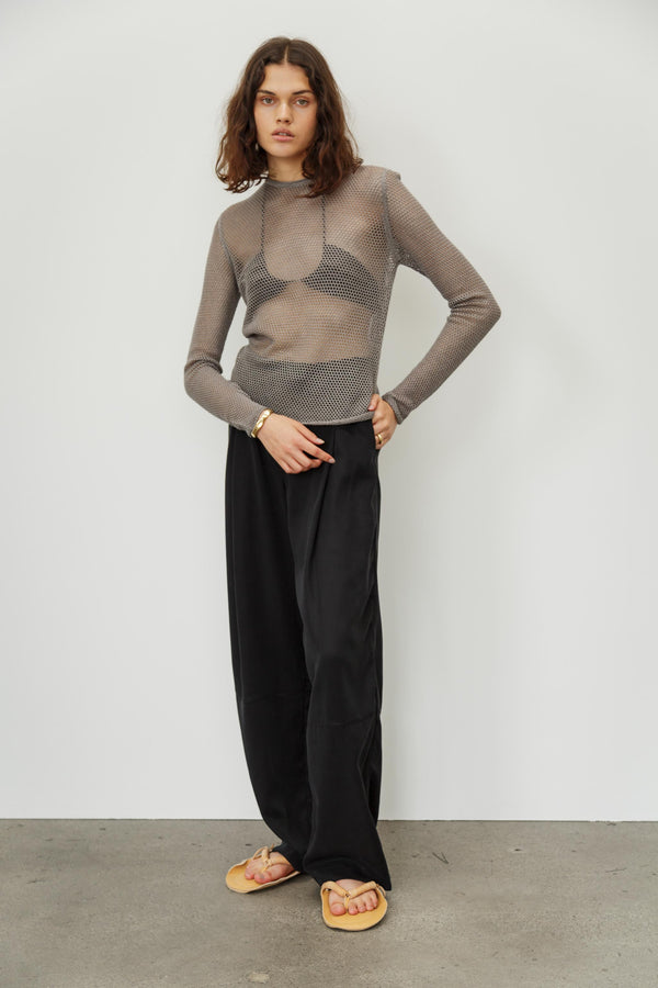 Netty Silk Cashmere Top
