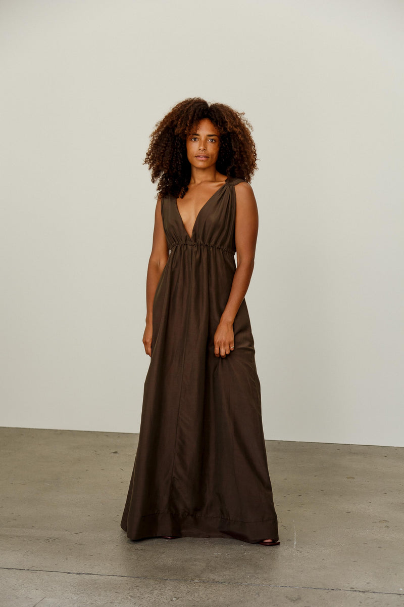 Angelica Silk Cotton Dress