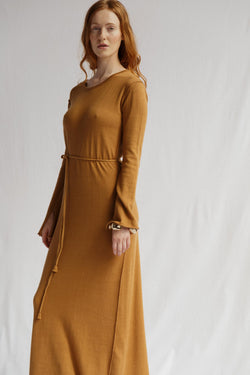 Ophelia Cashmere Cotton Dress