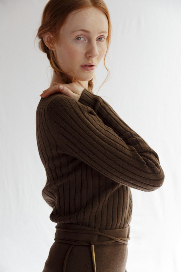 Alma Cashmere Cotton Jumper