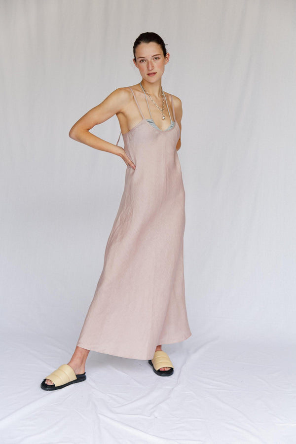 Lolly Linen Slip Dress