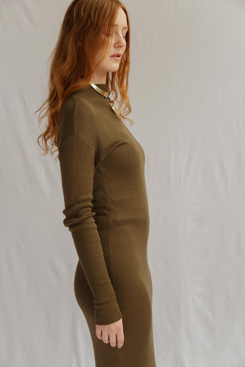Maxine Cashmere Silk Dress