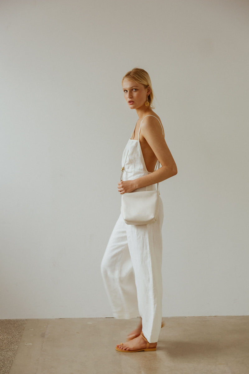 Zippy Linen Jumpsuit