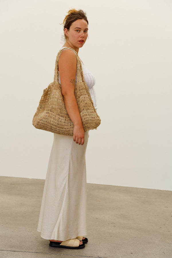 Oscar Hemp Market Bag