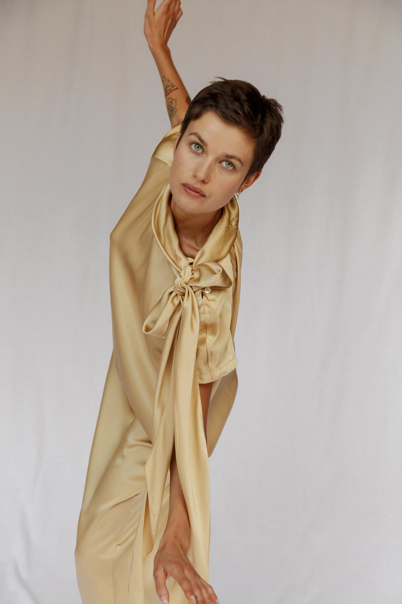 CAF Silk Scarf Dress