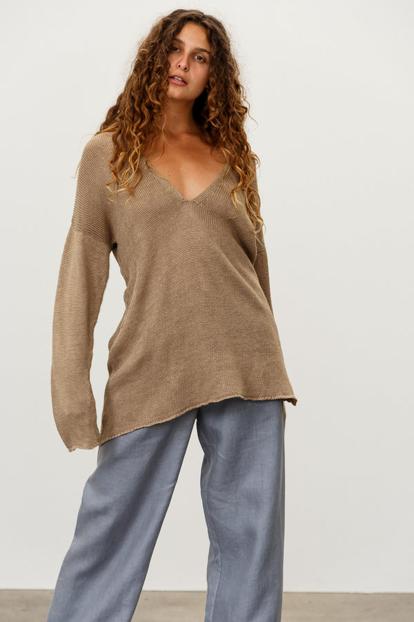 Saint Linen Jumper