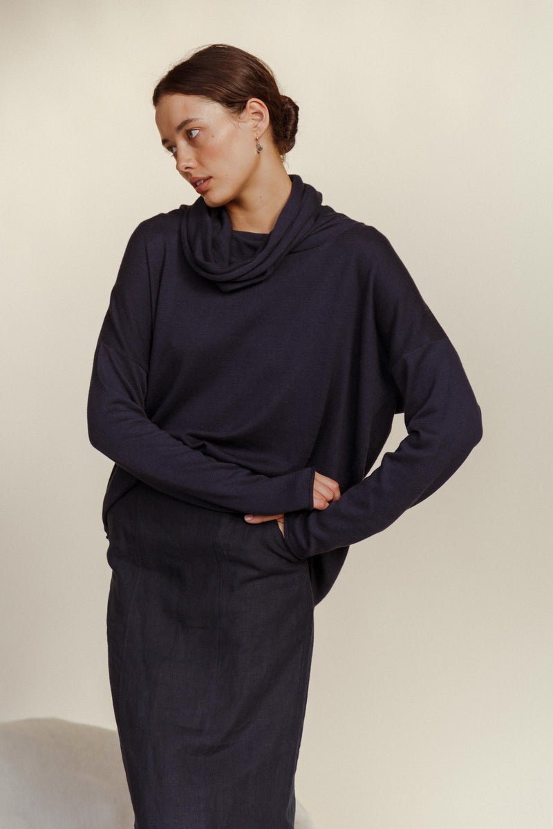 Loop Cashmere Cotton Jumper