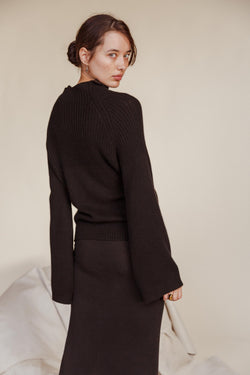 Black Lotus Cashmere Jumper