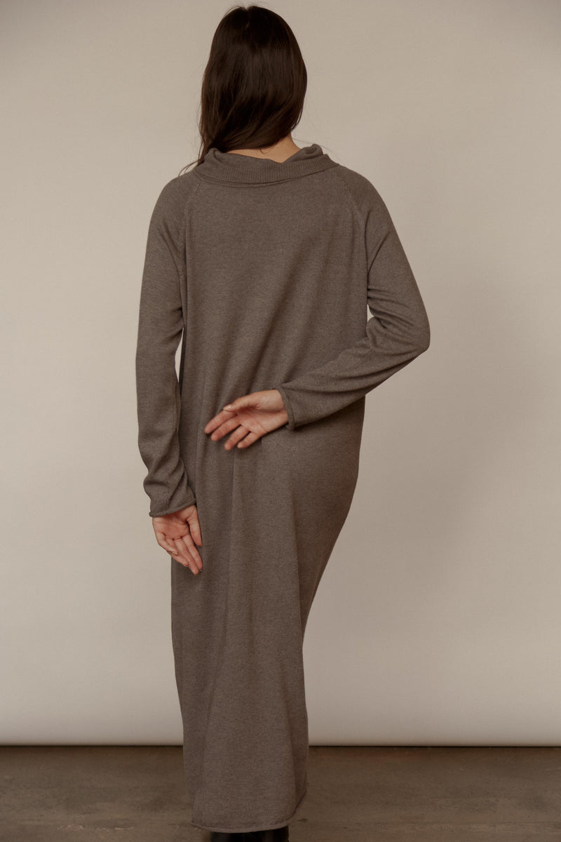 Osto Cashmere Cotton Dress