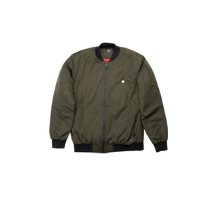 Zip Up Sealed Bomber Jacket
