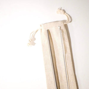 Straw Carrying Pouch