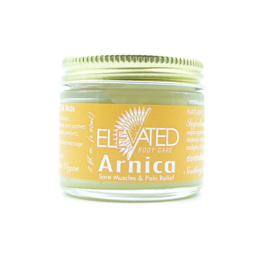 Natural Arnica Muscle Relief Salve