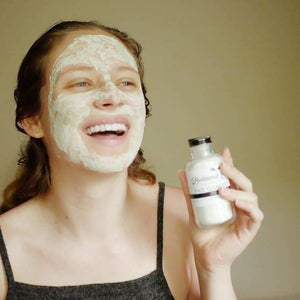 face mask for oily skin zero waste skincare bestowed essentials