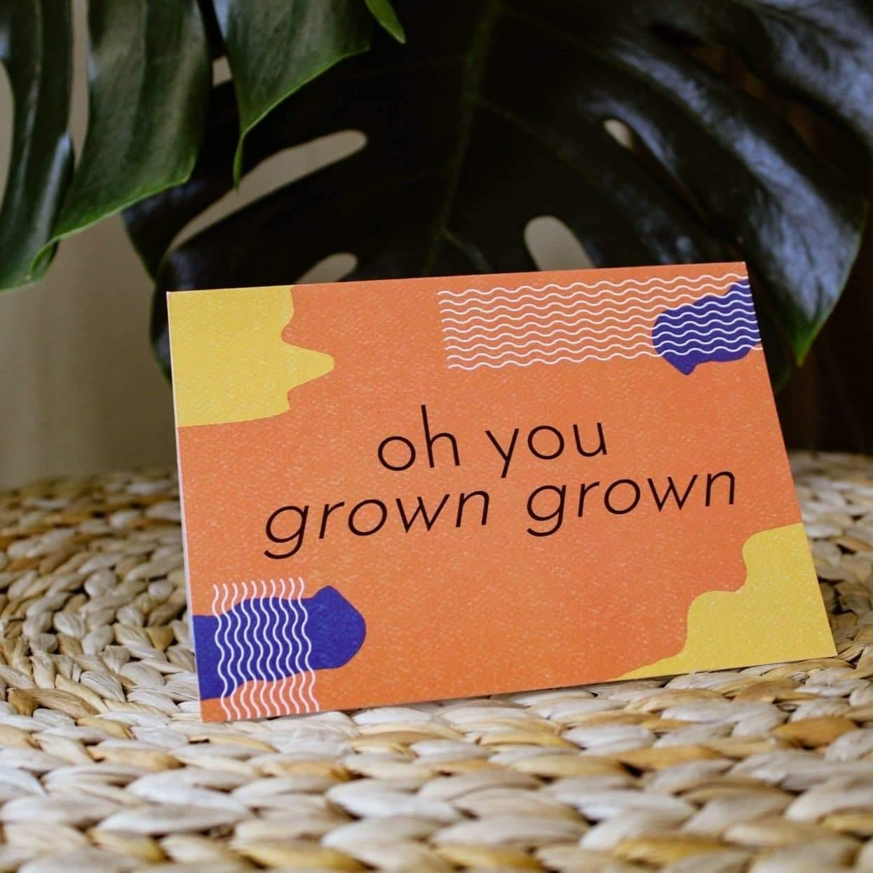 Minimalist Recycled Greeting Cards | Hippie Haven