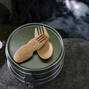 Bamboo Spork - Bambu - Hippie Haven