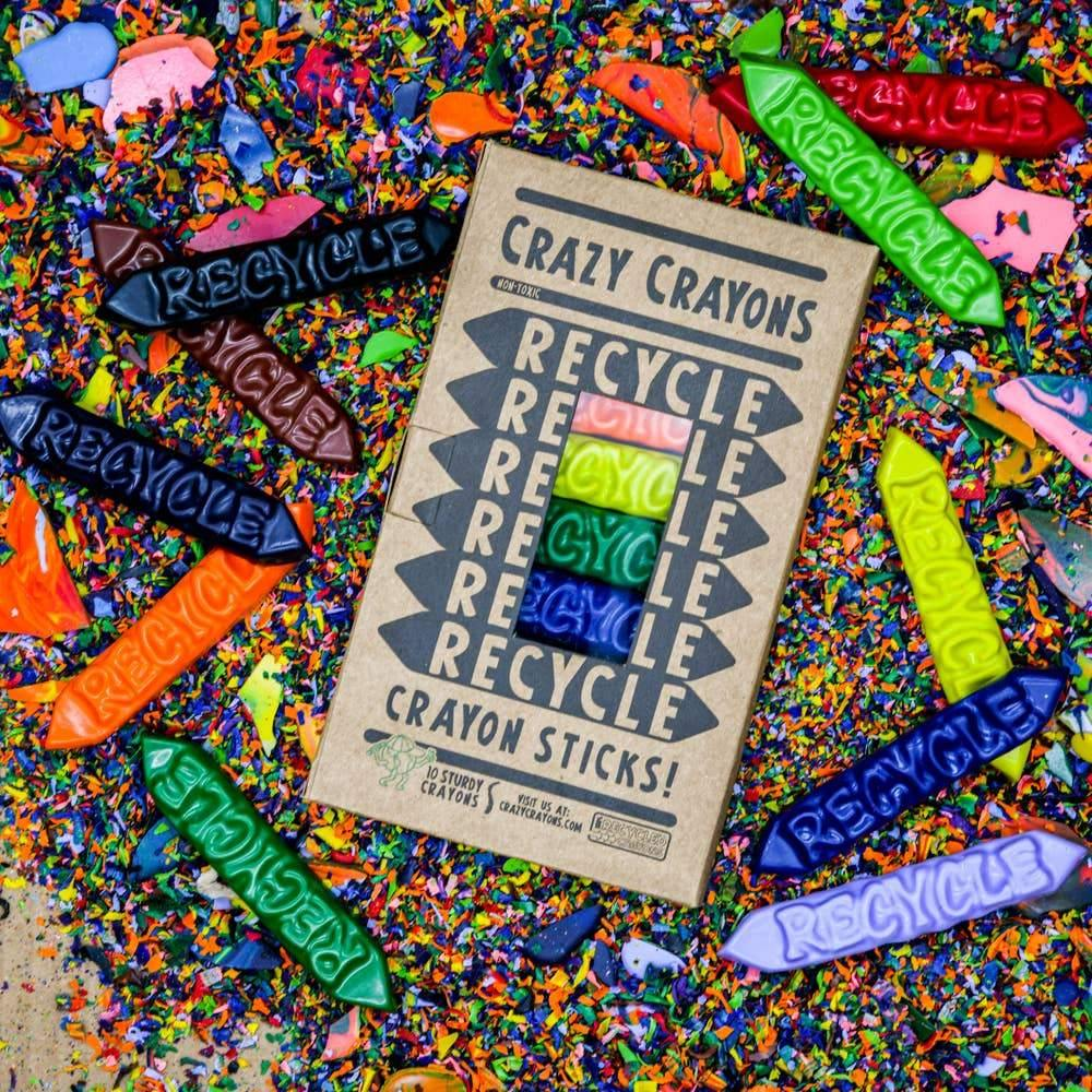Recycled Crayons | Hippie Haven