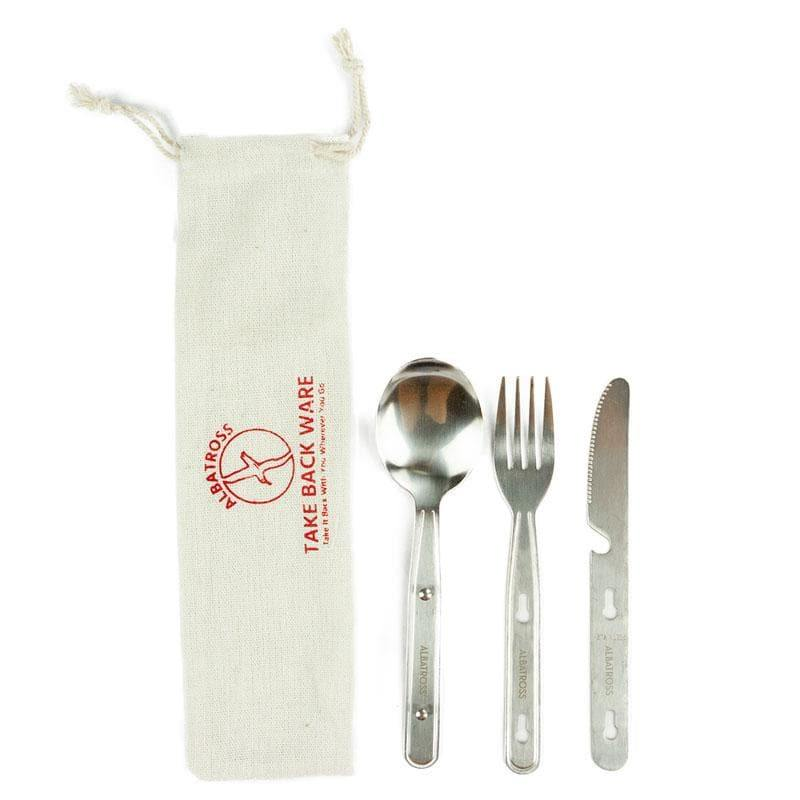 Recycled Cutlery Set - Hippie Haven