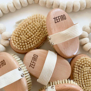 Biodegradable Dry Brush - Zefiro - Hippie Haven