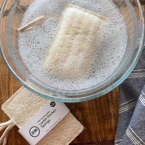 Loofah Kitchen Sponge - 3 Pack | Hippie Haven