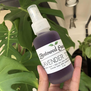 Herbal Face Toner - Bestowed Essentials - Hippie Haven