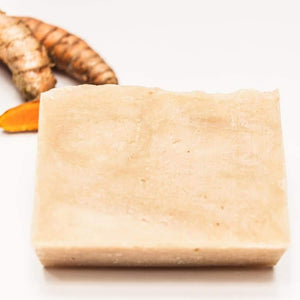 turmeric + calendula soap zero waste soap bestowed essentials