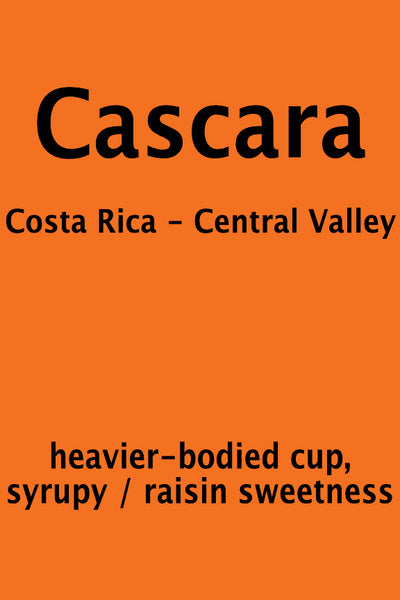 Cascara Coffee Cherry Tea - Senora - Costa Rica