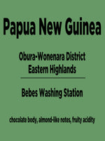 Papua New Guinea - Obura-Wonenara District - Eastern Highlands