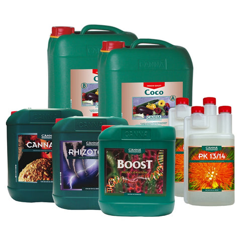 canna plant nutrients