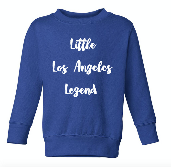 Little Los Angeles Legend Kids Sweatshirt