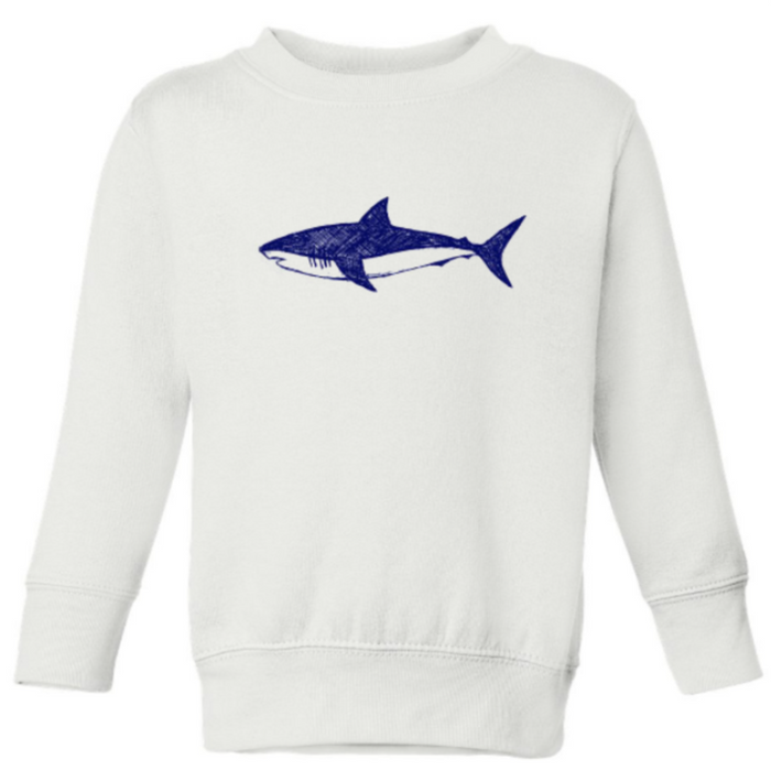 Shark Love Kids Blue