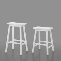 My Decor Center - Gaucho Counter Height Stool (White)