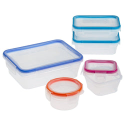 Total Solution Plastic 10-Pc Set